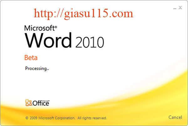 Giáo trình MS Word 2010 chuẩn