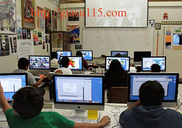Lớp dạy tin học văn phòng tại KCN Samsung Phổ Yên 2017