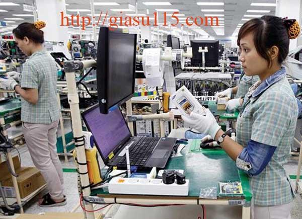 Khóa học tin văn phòng cho nhân viên làm ca kíp tại Sam Sung TN