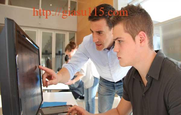 Lớp dạy tin học, Autocad tại Gang Thép
