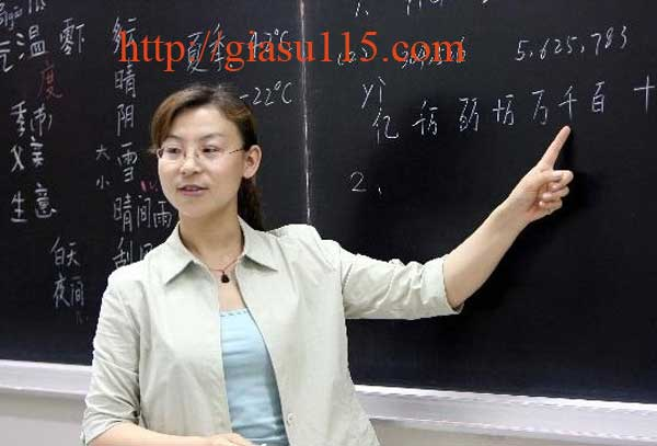 Tuyển giáo viên dạy tiếng Trung tại thái nguyên